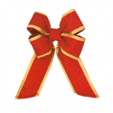 Canada Red Gold Trim Nylon Bow