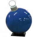 Blue Fiberglass Ornament with Cap