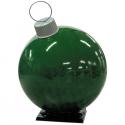 Green Fiberglass Ornament with Cap