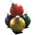 Four Fiberglass Ornament Stack