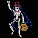 15' x 11' Animated Boo-Ga-Loo Skeleton