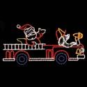 11' x 24' Santa's Firetruck