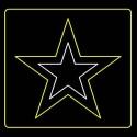 12' Army Insignia