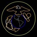 12' Marines Insignia