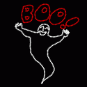 16' Animated Boo Ghost