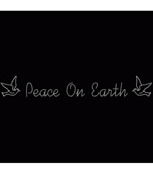 45' Peace on Earth with Doves Skyline