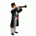 Canterbury Musician with Clarinet