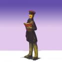 Dickens Caroler Boy