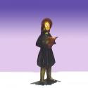 Dickens Caroler Girl