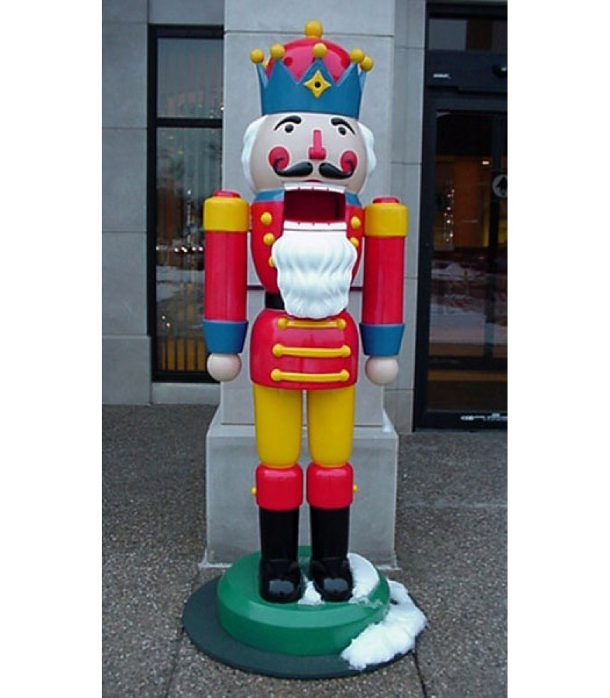 Life Size Fiberglass Nutcracker | All American Christmas Co