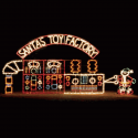 15' x 30' Animated Santa's Toy Factory