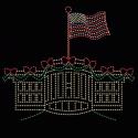 18' x 21' White House