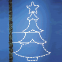 8' Tree with Star