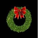 Mountain Pine Wreath with LED Mini Lights