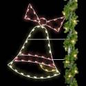 6' Christmas Bell