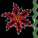 5' Enhanced Holiday Poinsettia