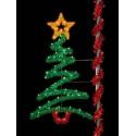8' Sparkling Zig-Zag Tree