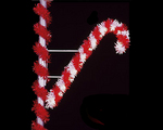Candy Cane & Candle Pole Mount Displays