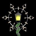 5' Winfest Diamond Snowflake