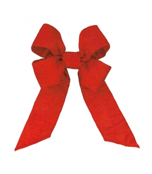 Canada Red Recycled Nylon Bow