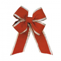 China Red Gold Trim Outdura Bow