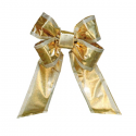 Gold Silver Trim Mylar Bow
