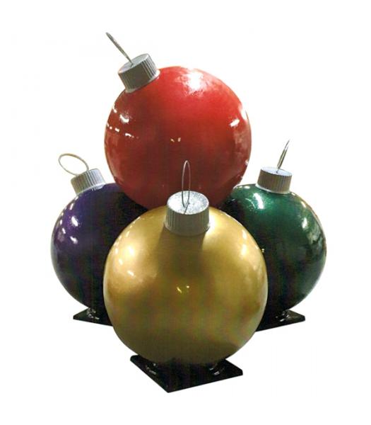 Ten Fiberglass Ornament Stack