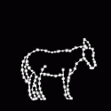 5' Silhouette Donkey
