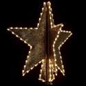 5' Tri Star Tree Topper
