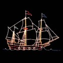21' x 28' Galleon