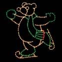 10' Skating Bear - Left