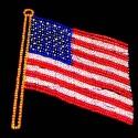 13' x 11' USA Flag