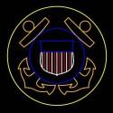 12' Coast Guard Insignia