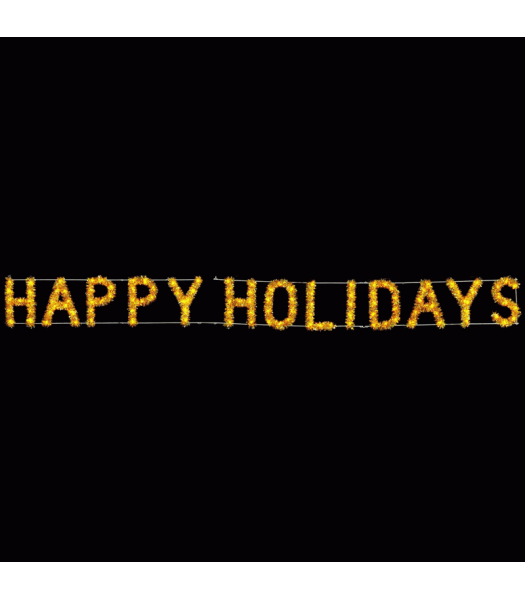 Happy Holidays Skyline