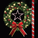 4' Oregonian Wreath with Star