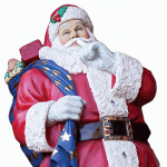 Fiberglass Santa Figures