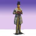 Dickens Caroler Man