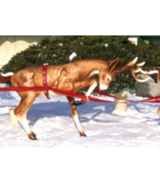 Fawn Reindeer (Head Down)