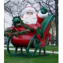 Giant Seated Santa