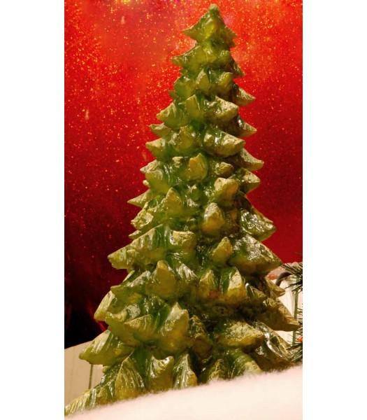 "38"" Illuminated Fiberglass Tree"