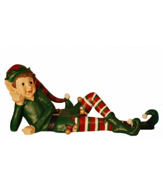 Elf laying down