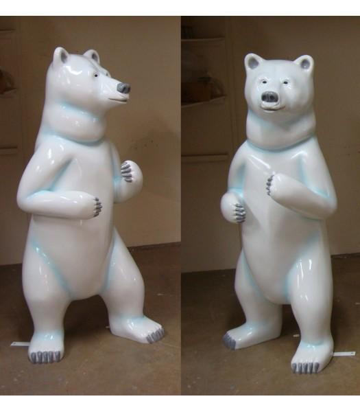 5' Dancing Polar Dear