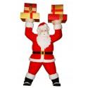 Santa Holding up Hands