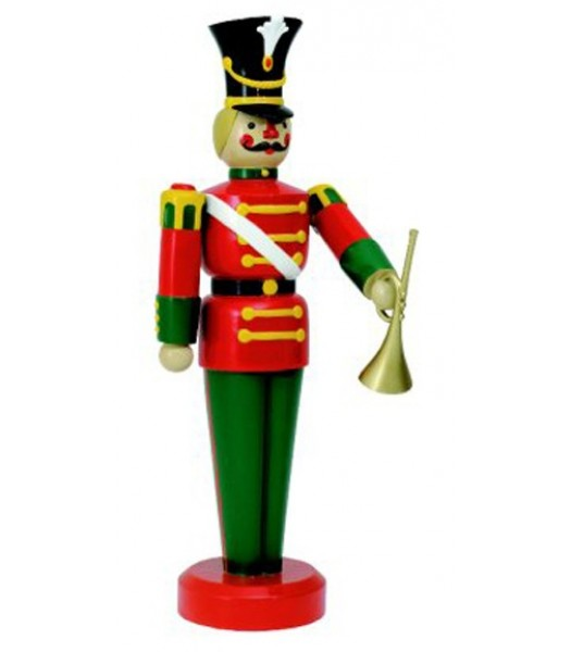"75"" Toy Soldier with Trumpet"