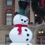 Fiberglass Snowman Figures
