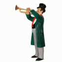 Canterbury Musician with Trumpet