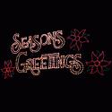 15' x 30' Seasons Greeting with Poisettias