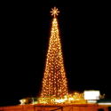 Ice Light Christmas Tree