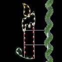 6' Christmas Candle