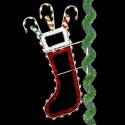 7' Enhanced Christmas Stocking
